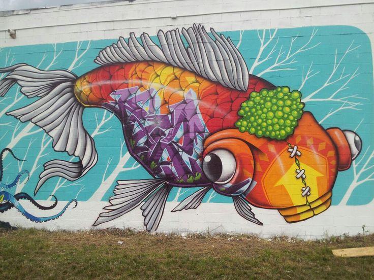 Wall art by binho