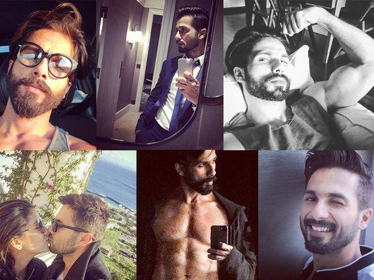 Shahid Kapoor's hottest selfies on Instagram!
