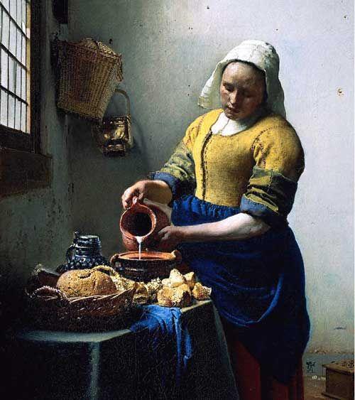 Vermeer - The Milkmaid  1658