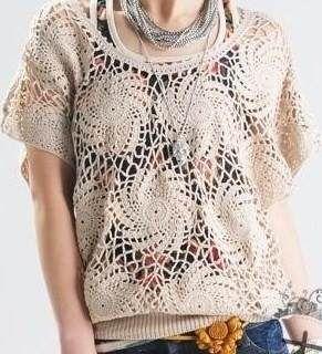 Blusas Crochet Modelos Asiáticos