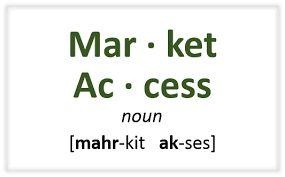 Resultado de imagen de market access logo