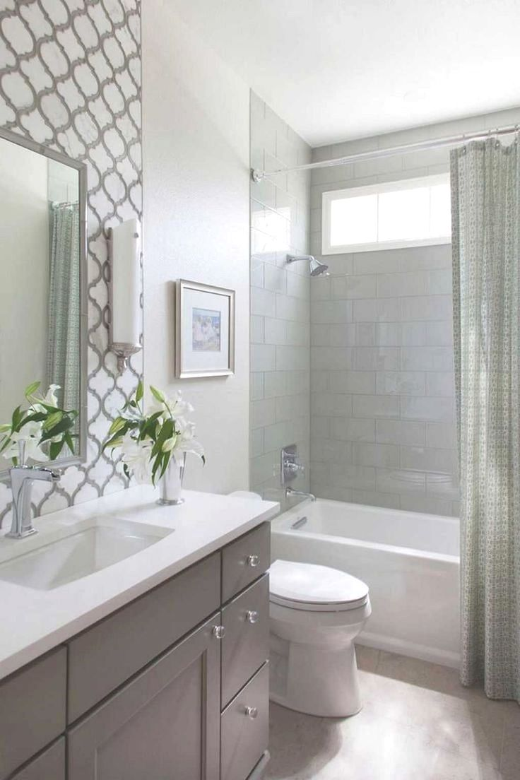 Small Bathroom Tub Shower Combo Ideas 47 Small Bathroom Small Bathroom Makeover Small Master Bathroom