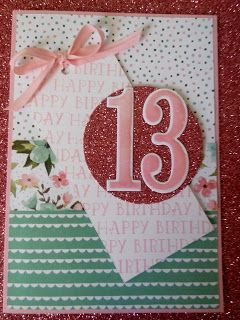 Stampin' Up, Mojo Monday, Birthday Bouquet, Number of Years, www.stampingbeaute.blogspot.co.nz