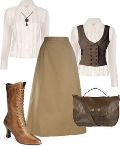 victorian ladies safari outfit - Google Search