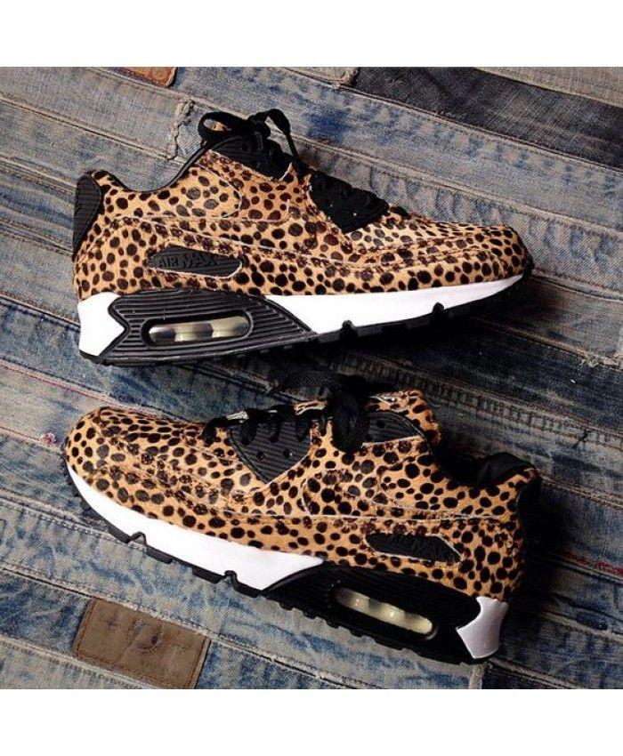 0949afe540 Womens Nike Air Max 90 Cheetah Print Pony Hair,Nike exclusive sponsorship  of romantic Valentine's