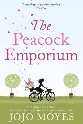 {WANT TO READ} The Peacock Emporium | JoJo Moyes.  I've enjoyed reading her other books.