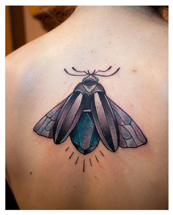1337tattoos — Gemstone-beetle done by Judith, Studio 23,...