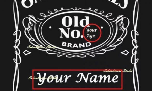 Free Jack Daniels Label Template Elegant Blank Jack Daniels Label Template 12 Clarifications Peterainsworth Label Templates Jack Daniels Label Labels