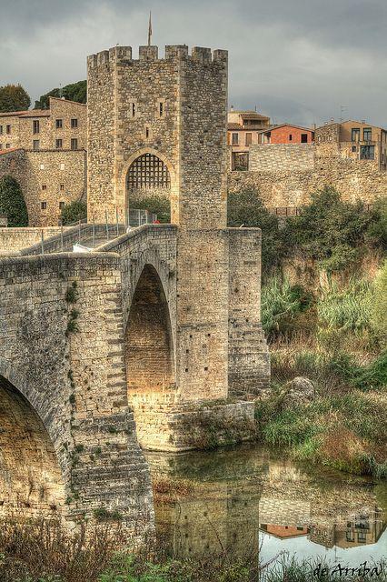 Besalú, Girona, Catalonia