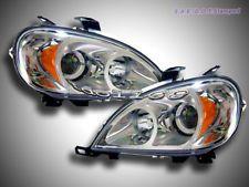 98-01 Mercedes Benz Chrome Projector Headlights ML Class W163 (Compatible con: 1999 ML320)