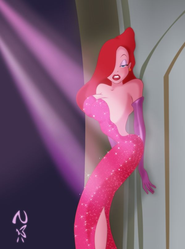 Some people wanted to look like Barbie when they were younger, I wanted to look like Jessica Rabbit:)