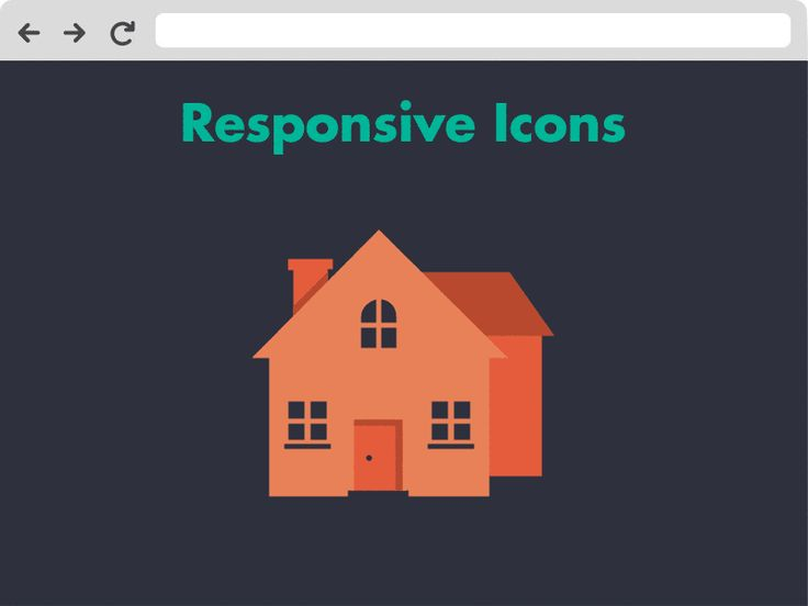 New Project - Responsive Icons by Joe Harrison