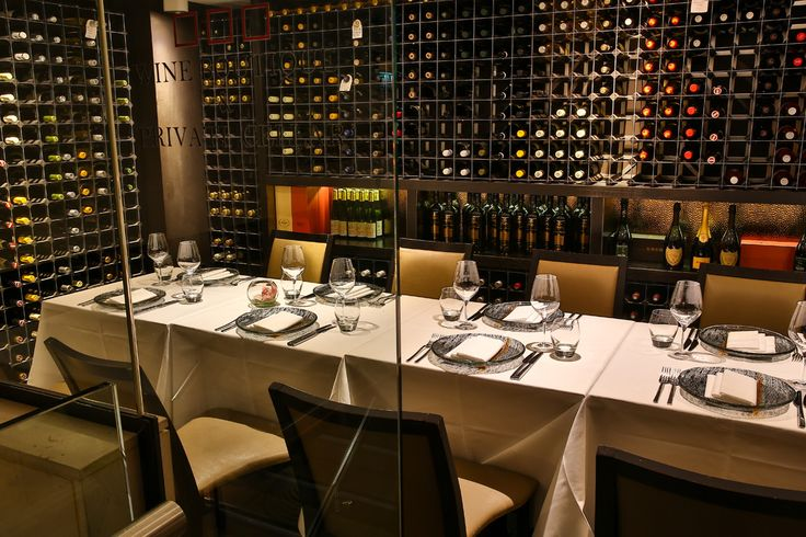Sommelier's Table at Benares