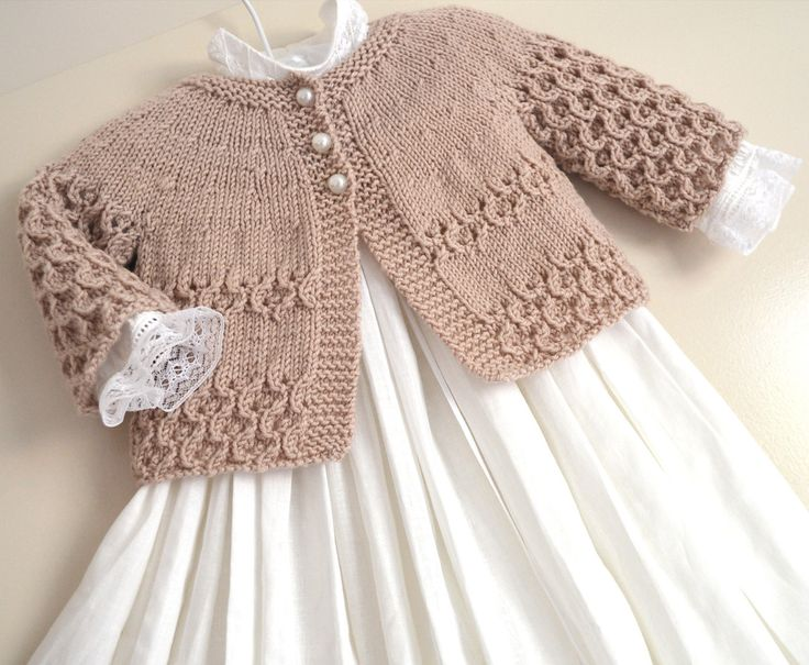Ravelry: Round Yoke Cardigan pattern by OGE Knitwear Designs