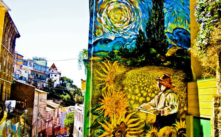Incredible Street Art from Valparaiso, Chile