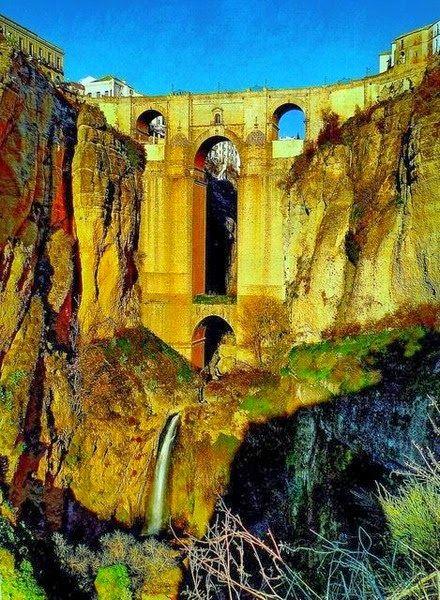 Beautiful Places in Spain. -Ronda, Andalucia, Spain