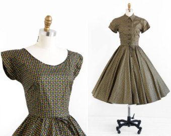 1960er Jahre Vintage Kleid / 60er Jahre Kleid / von RococoVintage