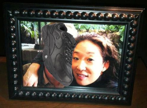 Cristina's missing shoe obsession