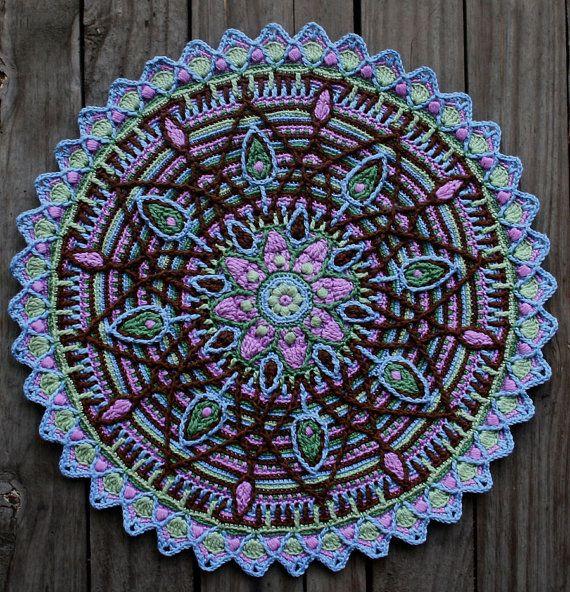 Crochet Overlay Mandala No. 5 Pattern PDF by CAROcreated on Etsy