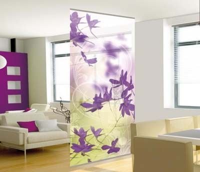 Decorative Sotto Hanging Room Divider