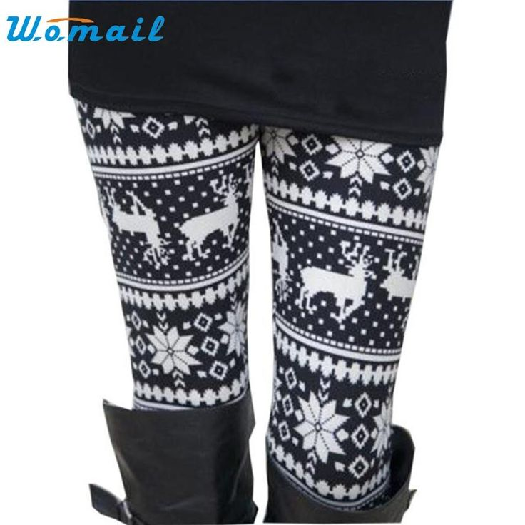 [Visit to Buy] Women's Running Pants Girls Fitness Leggings Pants skinny Printed Tights Sexy Push Up Pants Female Sport Exercrise Trousers Feb8 #Advertisement