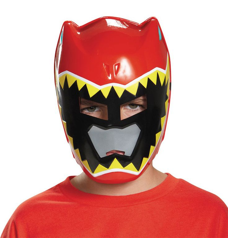 Nice Costume Accessories Power Ranger Dino Charge Vacuform Mask just added...