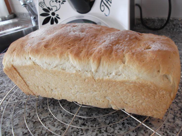 Rezept Thermifees zartes Kastenweißbrot (Stuten) von Thermifee - Rezept der Kategorie Brot & Brötchen