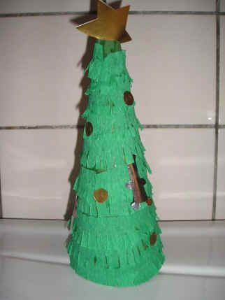 Kegel kerstboom - Knutselen!
