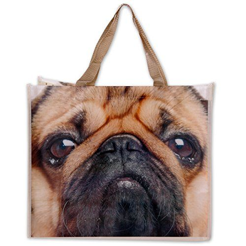"Tasche Mops Hund ""Pugs and Kisses"" 17x40x33cm 100% polyes... https://www.amazon.de/dp/B013GZ6270/?m=A105NTY4TSU5OS"