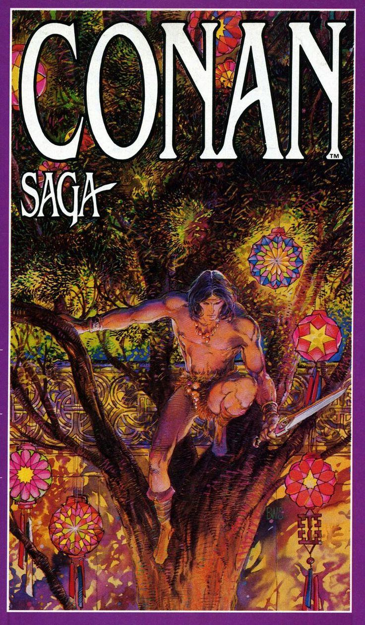 the Conan Saga, by Barry Windsor-Smith.