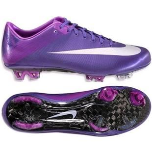 www.asneakers4u.com Cheap Sale Nike Mercurial Vapor Superfly III FG Firm Ground Soccer Cleats Purple/Silver