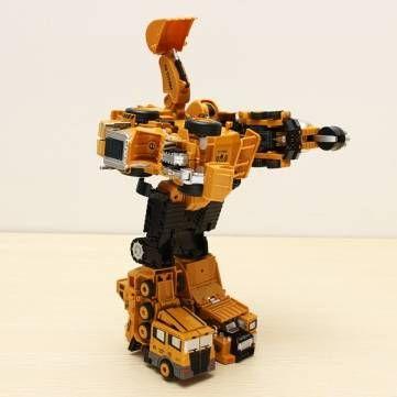 Metal Truck Hercules Combination Truck Transformers Toys Sale - Banggood.com