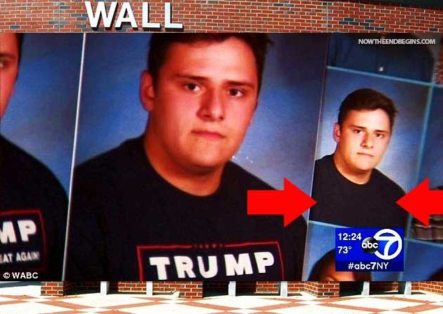 Wall Township High School In NJ Photoshops Out All References To President Trump From Student's Year Books