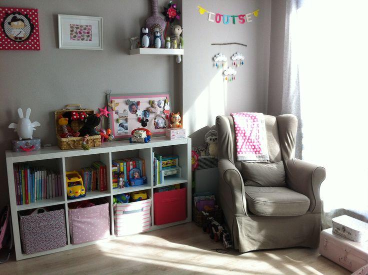 Chambre enfant fille rangement kids d cor d coration enfants pinterest - Rangement chambre enfants ...