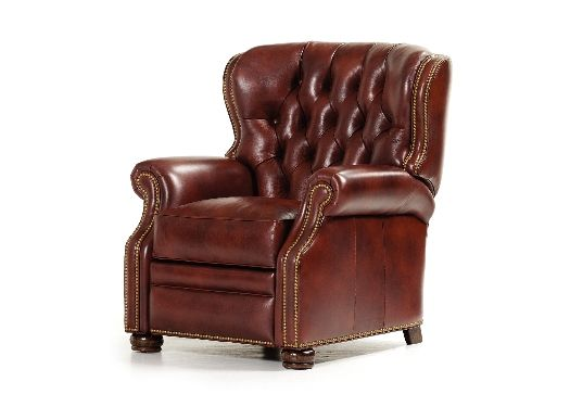 """Hancock and Moore 7082 Saunders Lounger    Height 41"""", Width 36"""", Depth 40""""  Inside: Width 20"""", Depth 22""""  Seat Height 20.5"""", Arm Height 26""""  Distance from wall to fully recline: 19""""  Less for TV viewing."""