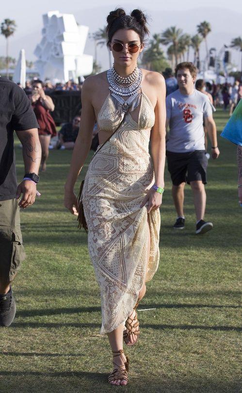 Kendall Jenner lors du premier week-end du Festival de Coachella