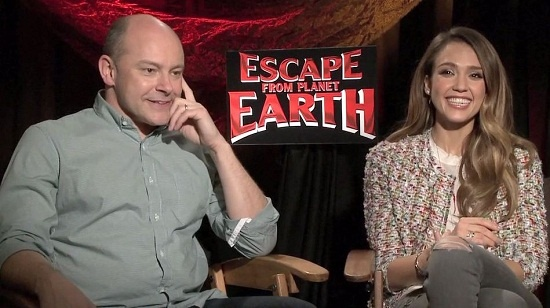 Escape from Planet Earth: Jessica Alba & Rob Corddry on Being Blue