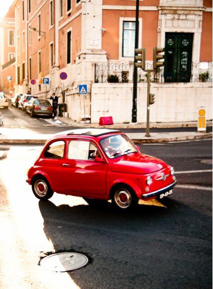 Italian life... <3 - fiat 500