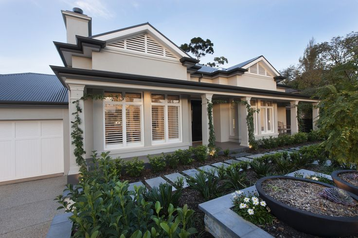 A classic fronted home with a modern twist