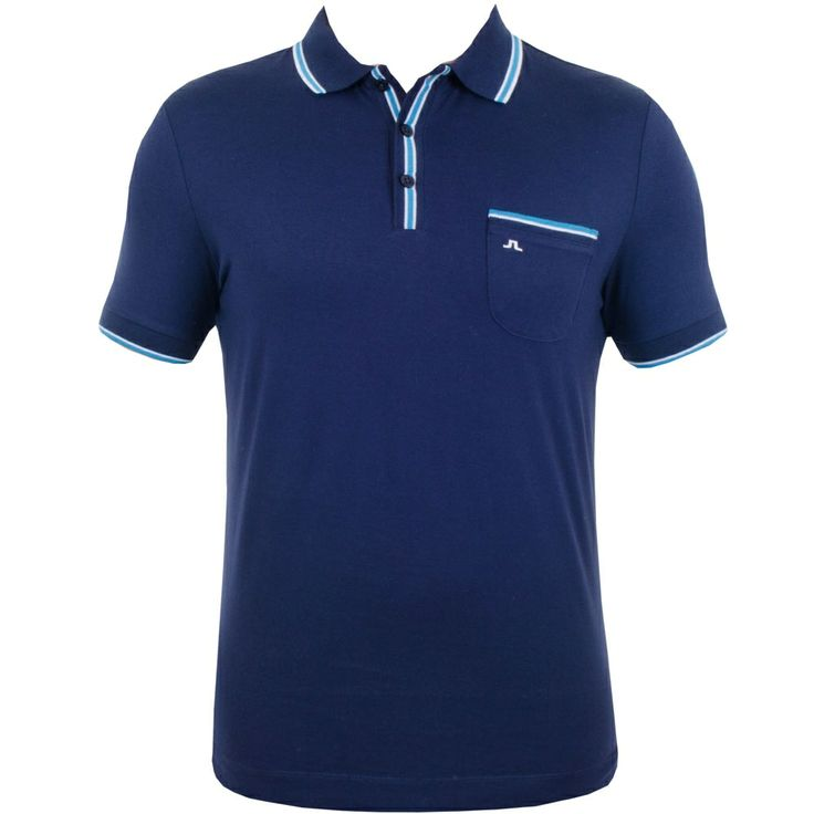 J Lindeberg Bernard Lux Jersey Navy Purple #golf #fashion #trendygolf #jlindeberg
