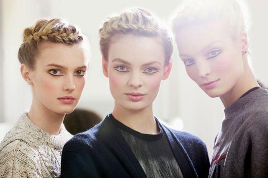 chanel : le maquillage du défilé des métiers d'art paris-edimbourg 2012-2013