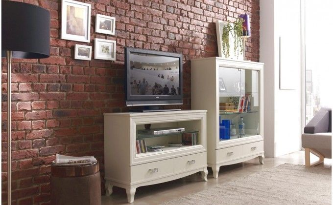Faux Brick Wall Panels' Instruction Decorating With Decor That Has A Television