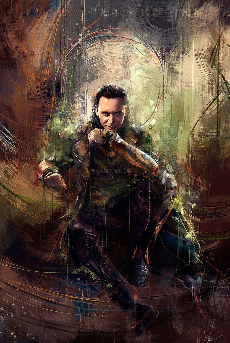 Loki by Namecchan on DeviantArt