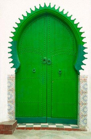 Happy doorway and green, too!                                                                                                                                                                                 Plus