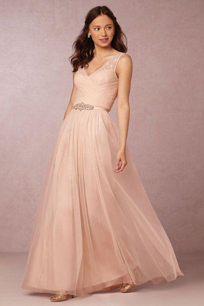 BHLDN Fleur Dress in  Bridesmaids View All Dresses at BHLDN