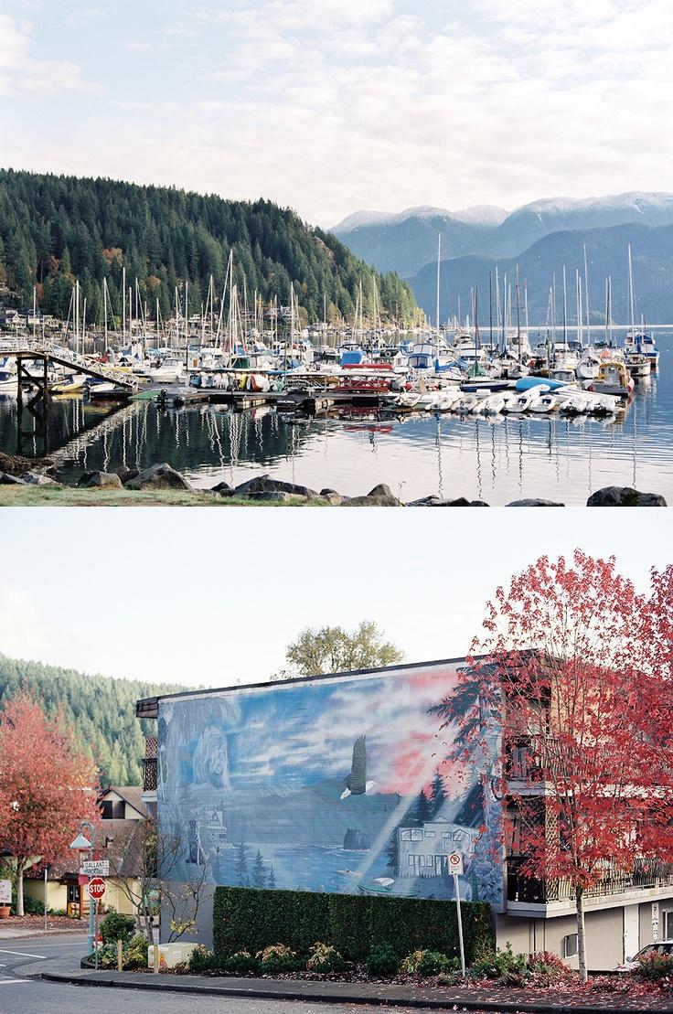 Deep Cove, BC, Canada. Christian Ward. Contax 645, Fuji 400H
