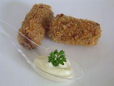 Column over snacken met een recept voor kroketten van asperge, shiitakes en gekonfijte eendenbout en een verrukkelijk sausjes met een Aziatische twist.