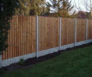 25 Best Ideas About Concrete Fence Posts On Pinterest