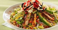 BJ's Brewhouse Copycat Santa Fe Chicken Salad: Obsessed with this dressing