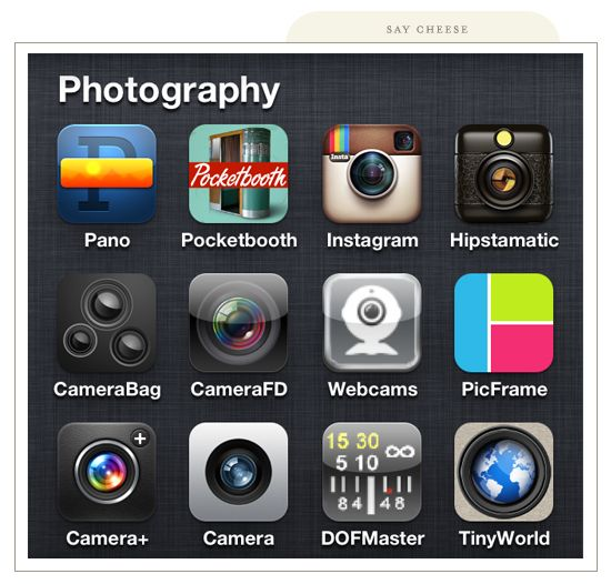 say cheese! Good photo editing apps, Photography apps
